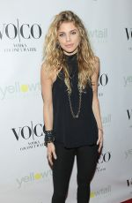 ANNALYNEMCCCORD at Yellowtail Sunset Grand Opening in West Hollywood