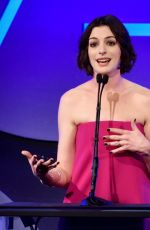 ANNE HATHAWAY at Art Directors Guild Excellence in Production Design Awards in Beverly Hills