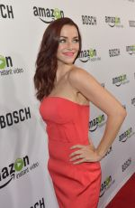 ANNIE WERSCHING at Bosch Screening in Hollywood
