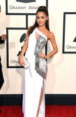 ARIANA GRANDE at 2015 Grammy Awards in Los Angeles