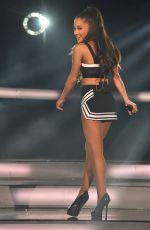 ARIANA GRANDE Performs at All-star Game in New York