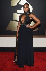 ASHANTI at 2015 Grammy Awards in Los Angeles