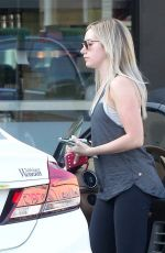 ASHLE TISDALE in Leggings Leaves Earthbar in Los Angeles 1902