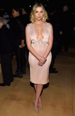 ASHLEY BENSON at Reem Acra Fashion Show in New York
