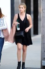 ASHLEY BENSON Out Shopping in Beverly Hills