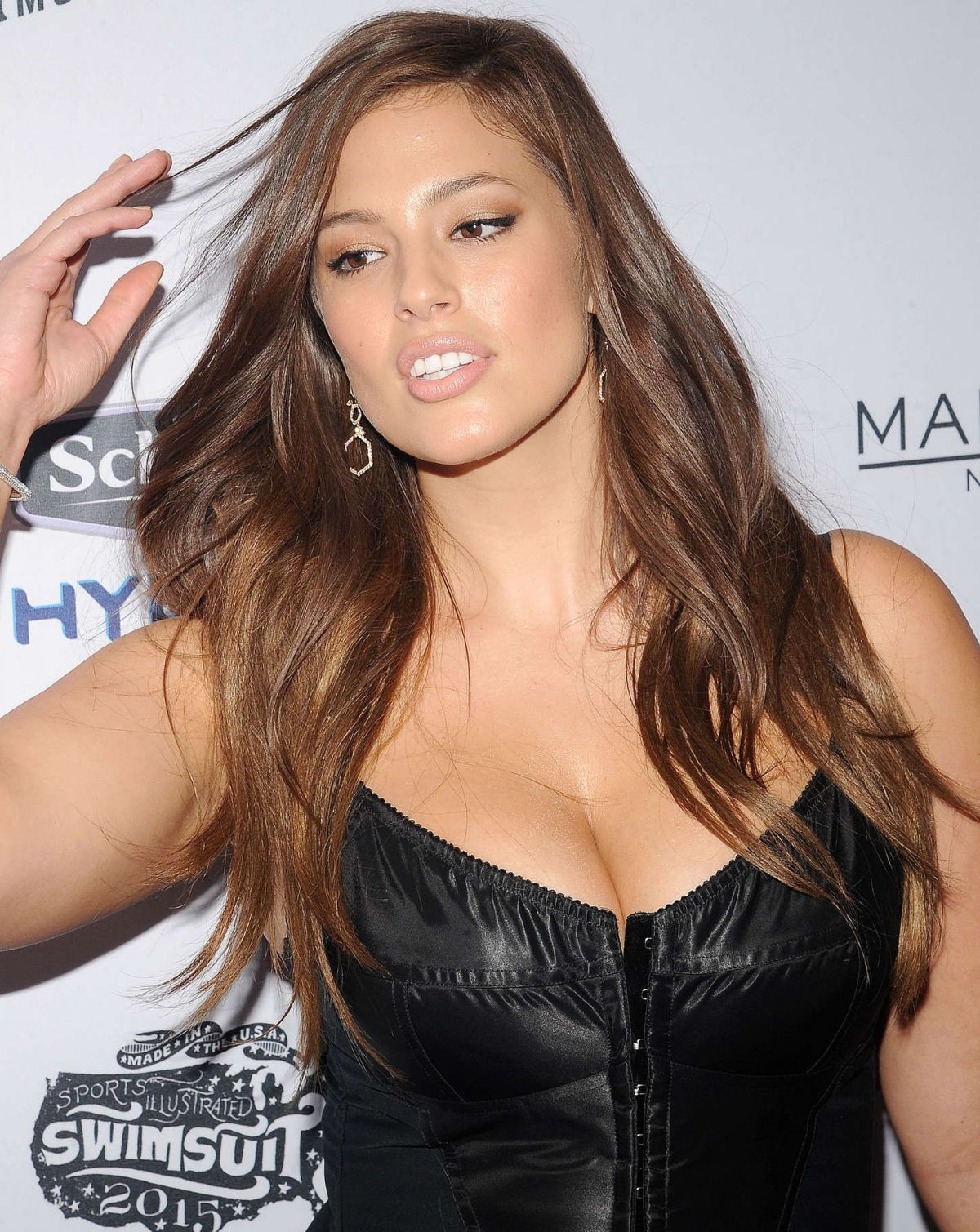 ASHLEY GRAHAM at 2015 Sports Illustrated Swimsuit Issue Celebration in ...