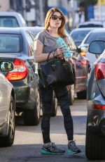 ASHLEY GREENE Arrives at a Gym in West Hollywood 1002