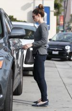 ASHLEY GREENE at a Gas Station in Los Angeles