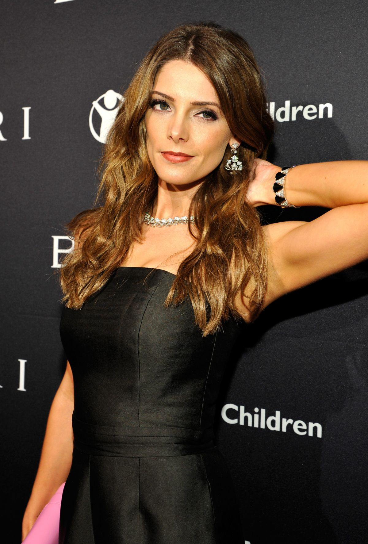ASHLEY GREENE at Bvlgari and Save the Children stop. think. give. Pre-oscar Gala in Beverly Hills