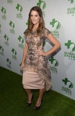 ASHLEY GREENE at Global Green USA Pre-oscar Party in Hollywood