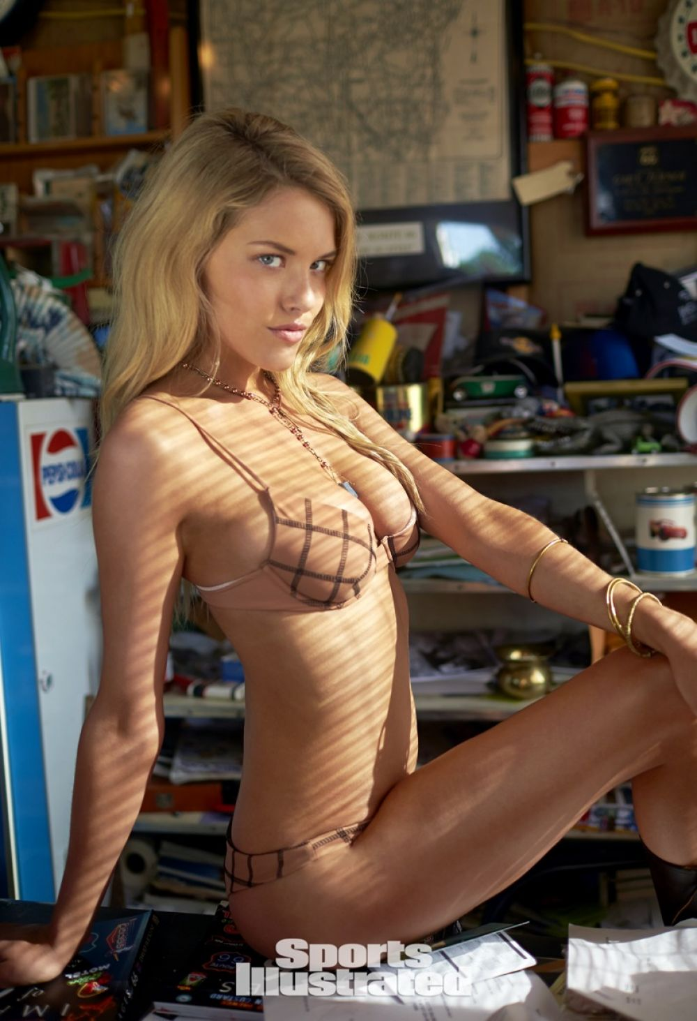 ASHLEY SMITH in Sports Illustrated Swimsuit 2015 Issue