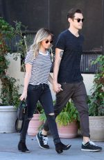 ASHLEY TISDALE and Christopher French Out and About in Los Angeles 1302