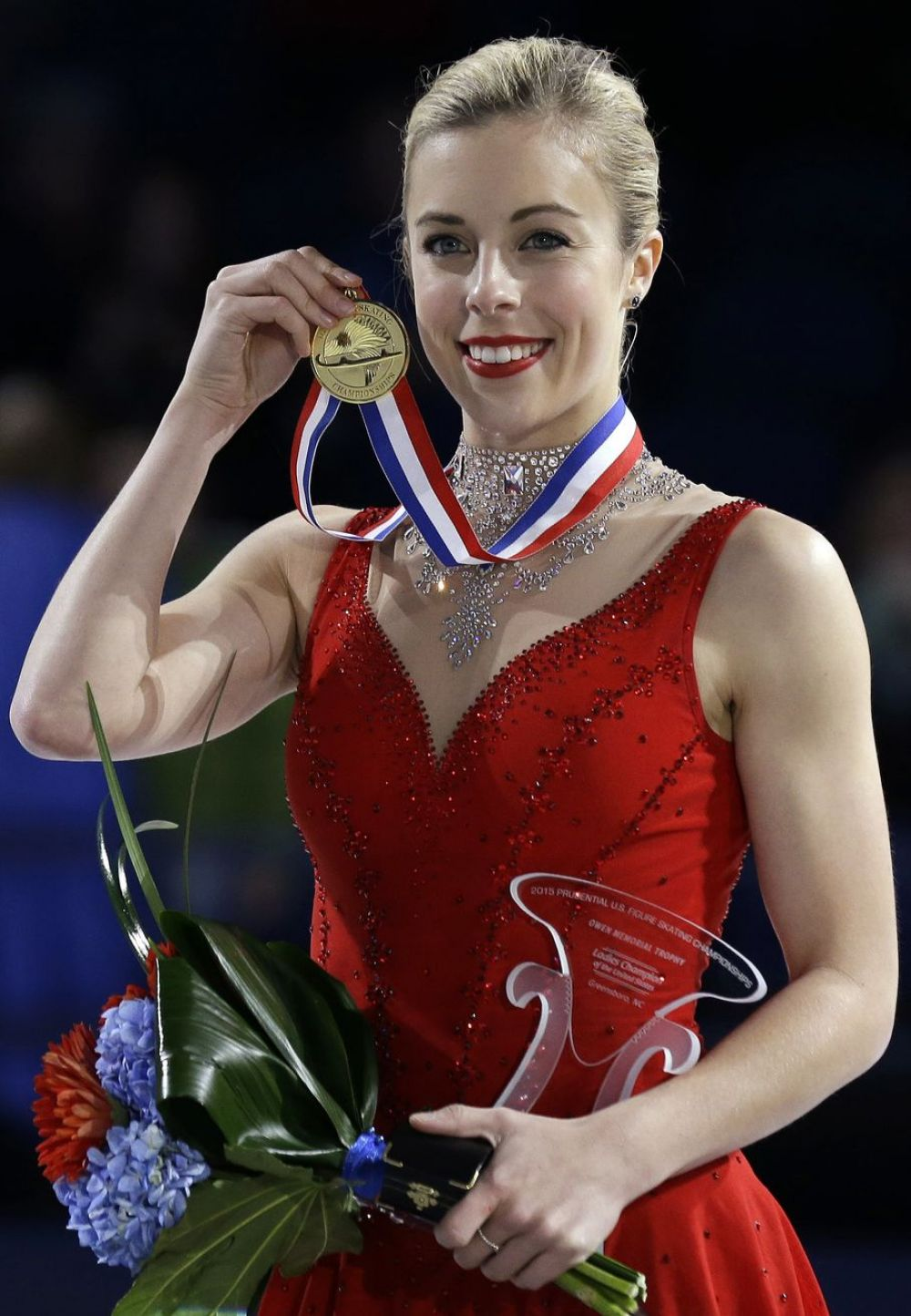 ASHLEY WAGNER Wins Her Third U.S. Women