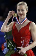 ASHLEY WAGNER Wins Her Third U.S. Women