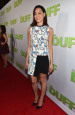 AUBREY PLAZA at The Duff Screening in Hollywood