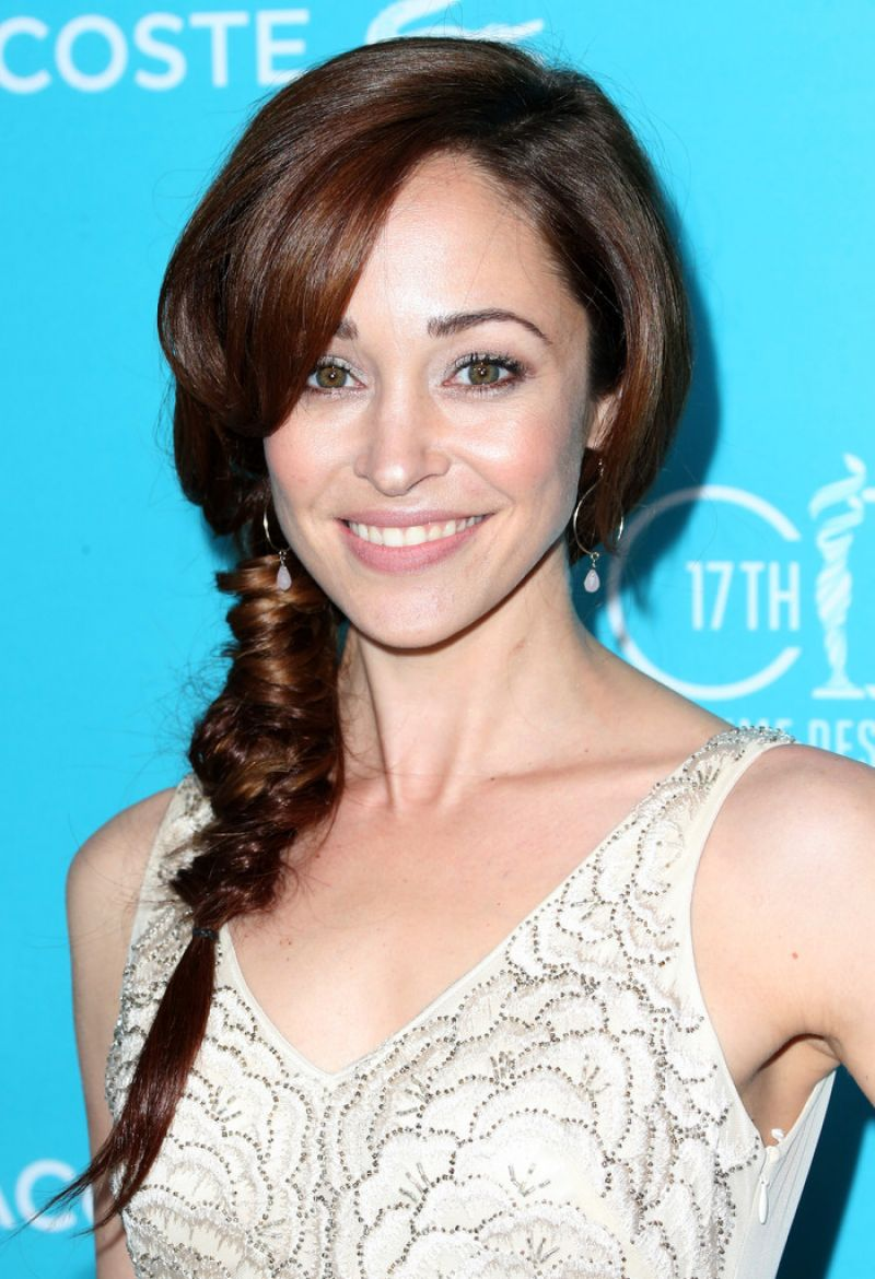 AUTUMN REESER at 2015 Costume Designers Guild Awards in Beverly Hills