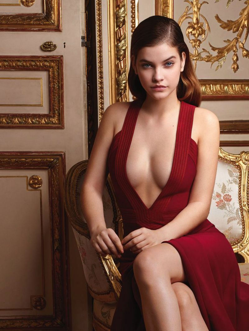 BARBARA PALVIN in Glamour Magazine, Germany March 2015 Issue