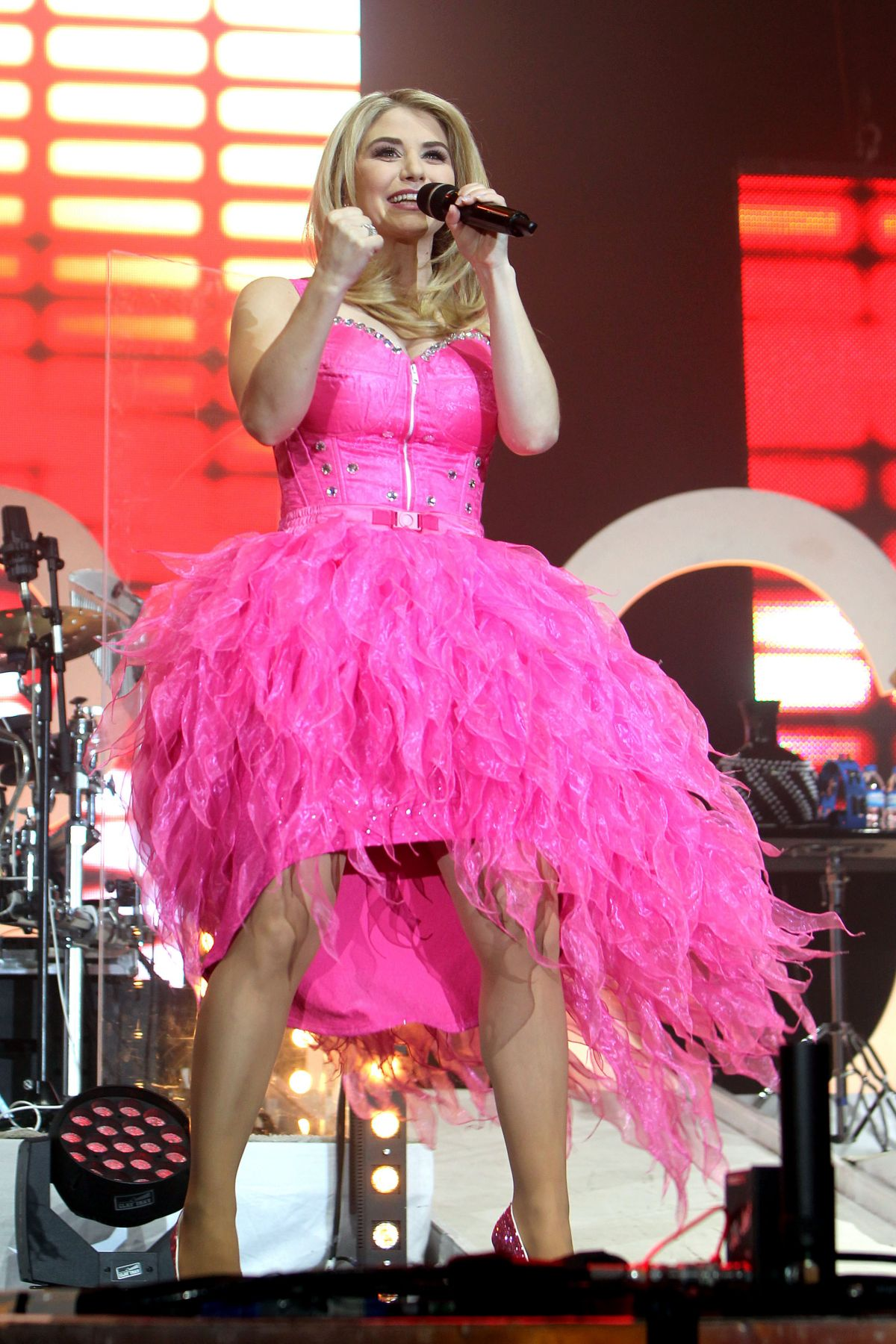 BEATRICE EGLI Performs at Pure Lebensfreude Tour in Leipzig