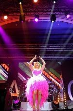 BEATRICE EGLI Performs at Pure Lebensfreude Tour in Leipzig