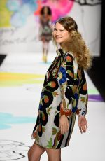 BEHATI PRINSLO at Desigual Fashion Show in NEw York