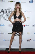BEHATI PRINSLOO at 2015 Leather & Laces Super Bowl XLIX Party in Phoenix
