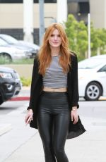 BELLA THORNE Arrives at a Photoshoot in Milk Studios in Hollywood