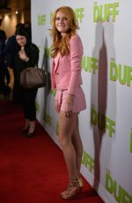 BELLA THORNE at The Duff Screening in Hollywood