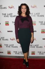 BELLAMY YOUNG at The Last Five Years Premiere in Los Angeles