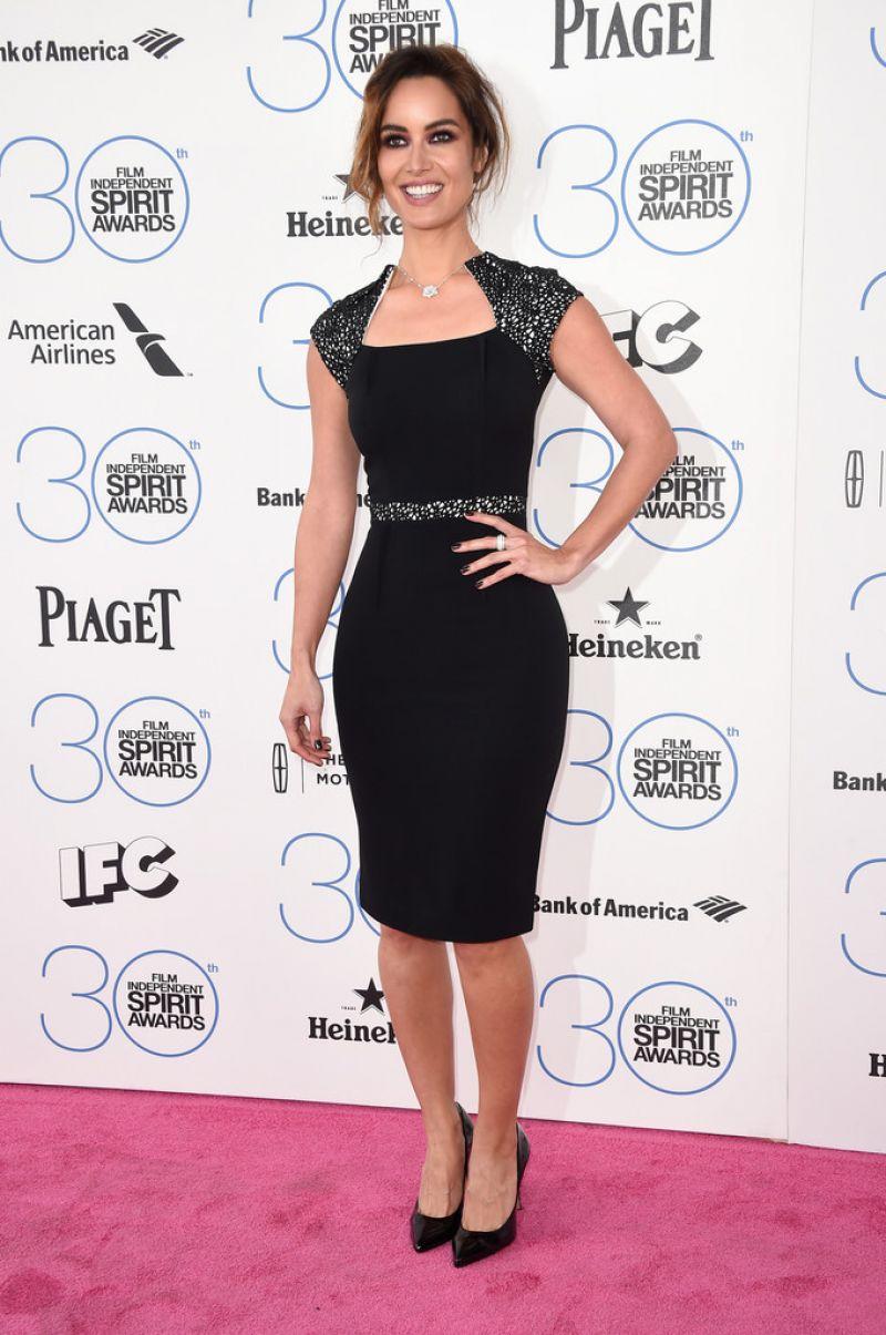 BERENICE MARLOHE at 2015 Film Independent Spirit Awards in Santa Monica