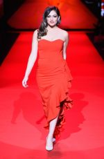 BETHANY MOTA at Go Red for Women Ded Dress Collection 2015 in New York