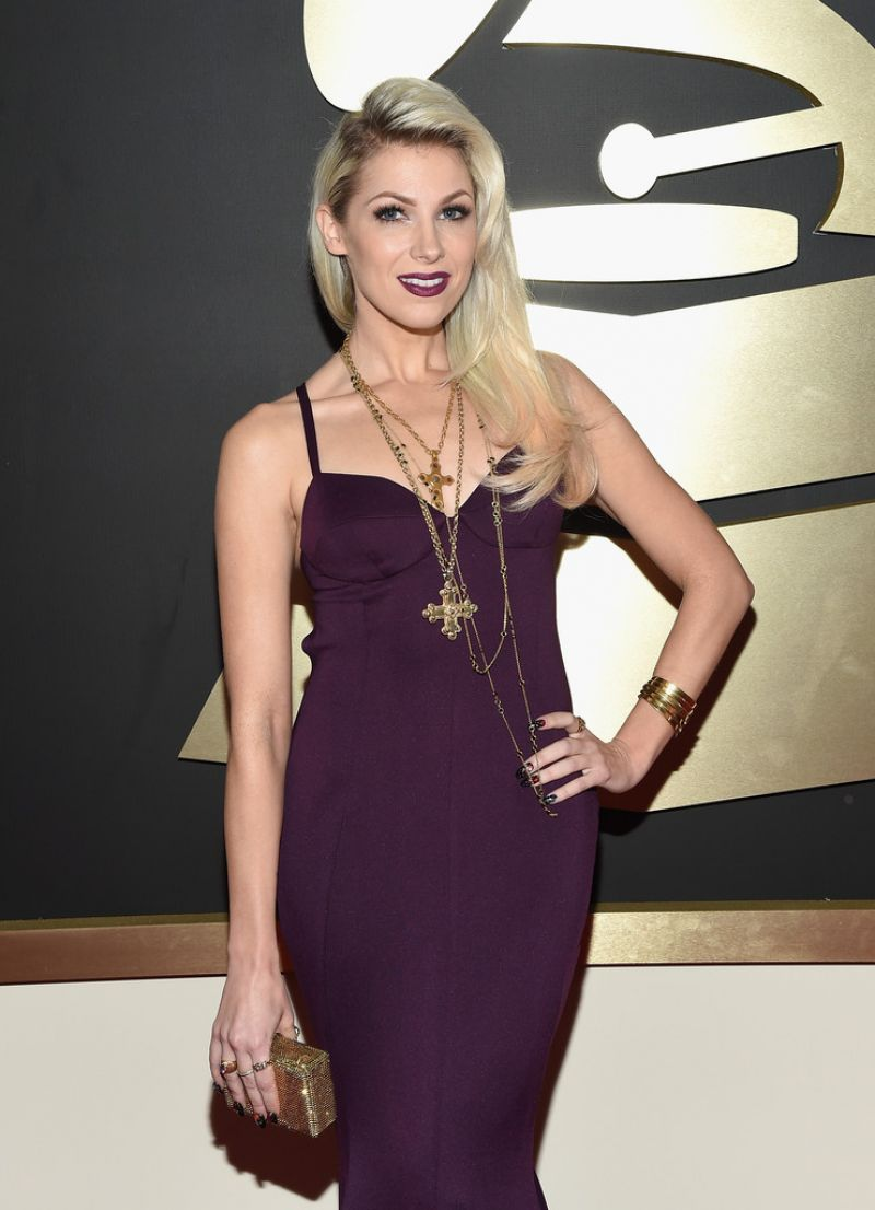 BONNIE MCKEE at 2015 Grammy Awards in Los Angeles