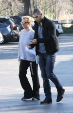 BRITNEY SPEARS Leaves a Gym in Calabasas