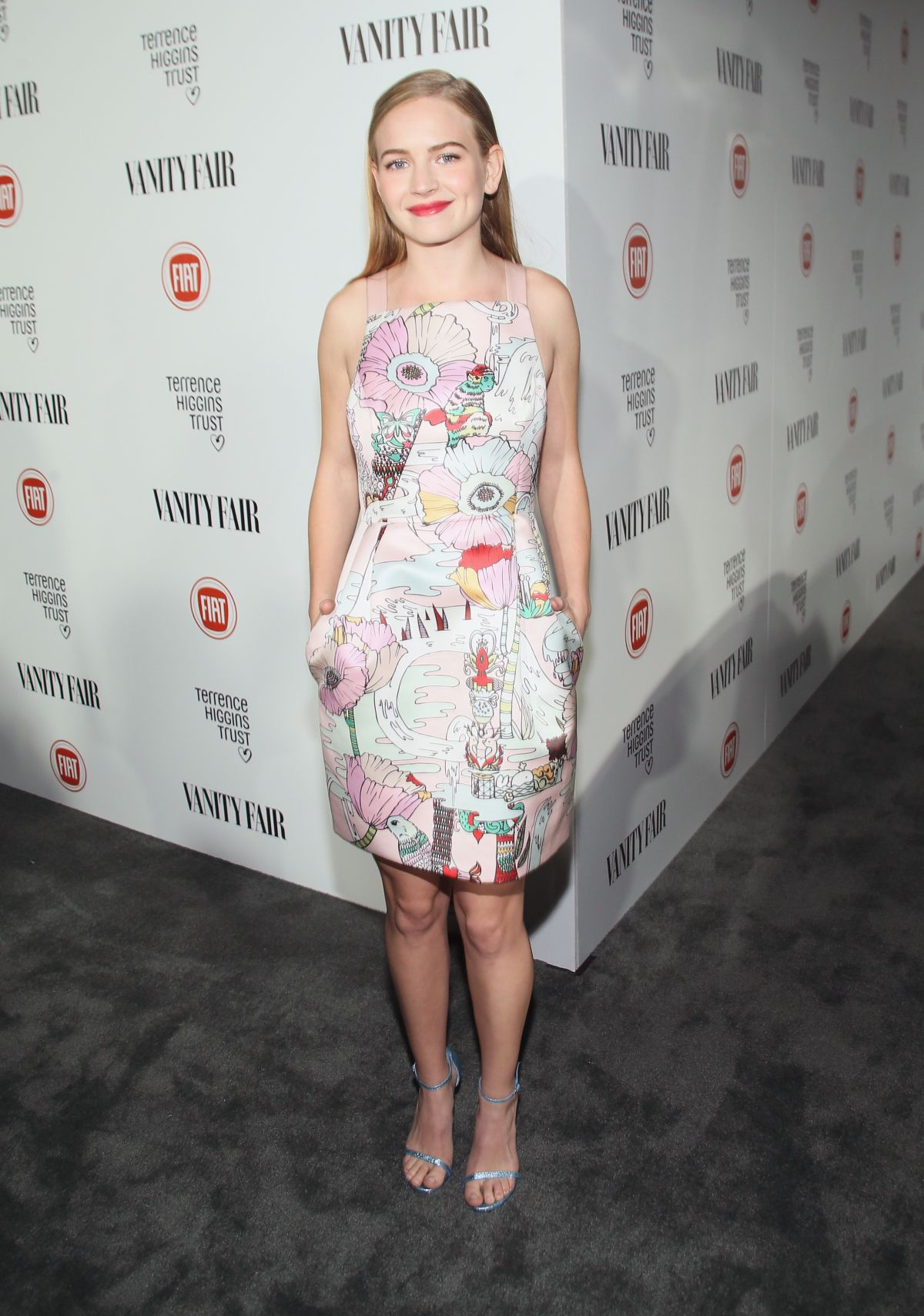 BRITT ROBERTSON at Vanity Fair and Fiat Celebration of Young Hollywood in Los Angeles