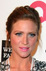 BRITTANY SNOW at Elton John Aids Foundation's Oscar Viewing Party