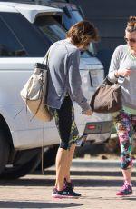 BROOKE BURKE Leaves a Gym in Malibu 1502