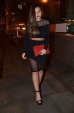 BROOKE VINCENT and GEORGIA MAY FOOTE Night Out in Manchester