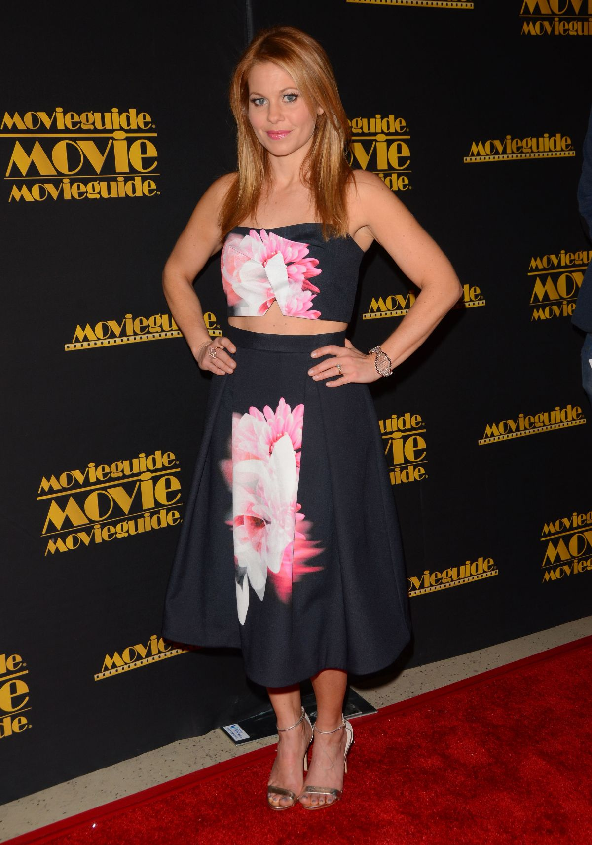 CANDACE CAMERON BURE at 2015 Movieguide Awards in Universal City