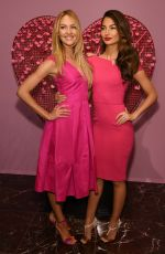 CANDICE SWANEPOEL and LILY ALDRIDGE at Victoria's Secret in Las Vegas