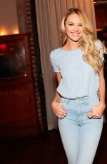 CANDICE SWANEPOEL at Candice Swanepoel + Mother Collaboration in New York