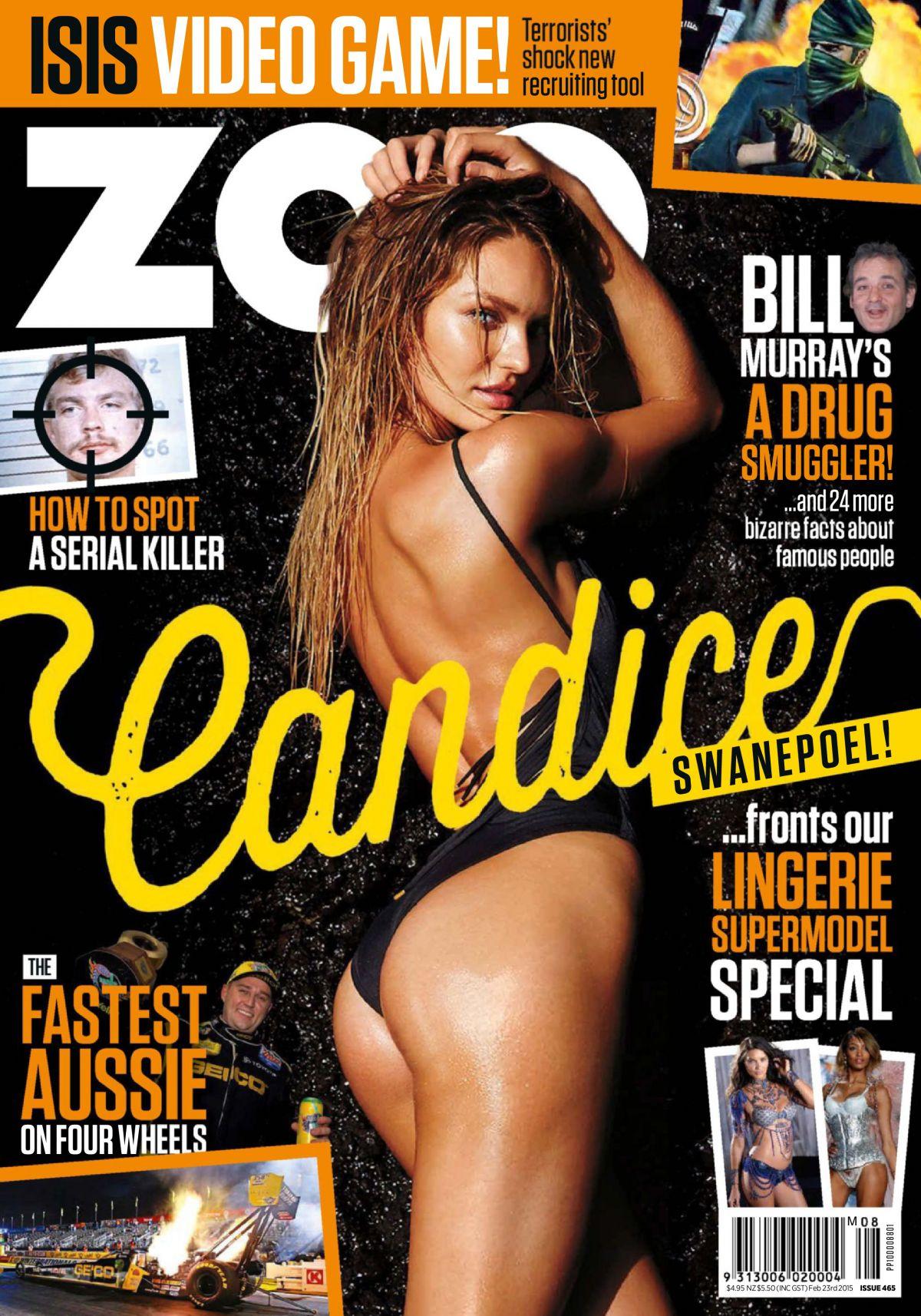 CANDICE SWANEPOEL in Zoo Mafazine, Australia February 2015 Issue