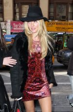 CANDICE SWANEPOEL Out and About in New York 0502
