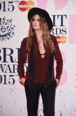 CARA DELEVINGNE at Brit Awards 2015 in London
