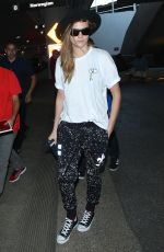 CARA DELEVINGNE at LAX Airport in Los Angeles 2602