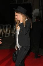 CARA DELEVINGNE at Universal Music Brits Party in London