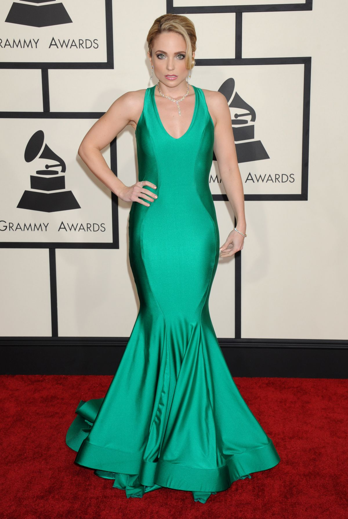 CARA QUICI at 2015 Grammy Awards in Los Angeles