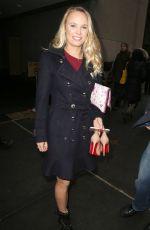 CAROLINE WOZNIACKI Arrives at Today Show in New York