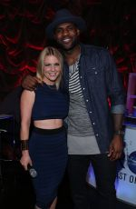 CARRIE KEAGAN at NBA All-star Weekend Fashion Show in New York