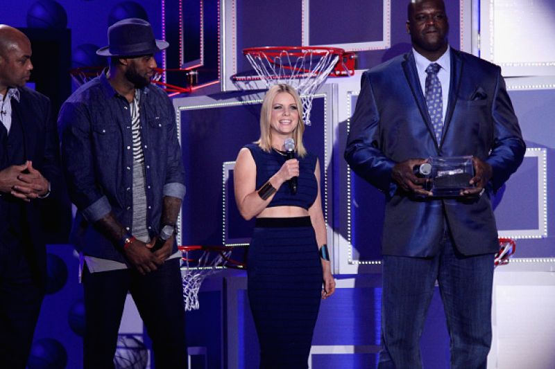 Carrie Keagan At Nba All Star Weekend Fashion Show In New