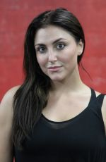 CASSIE SCERBO at Reebok Seeding Lounge Workout in West Hollywood