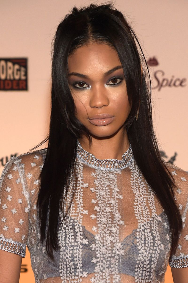 CHANEL IMAN at SI Swimsuit 2015 Takes Over the Schermerhorn Symphony Center in Nashville